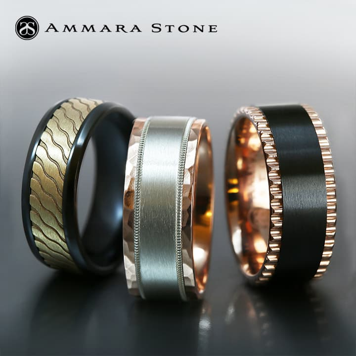 Ammara Wedding Bands by Benchmark