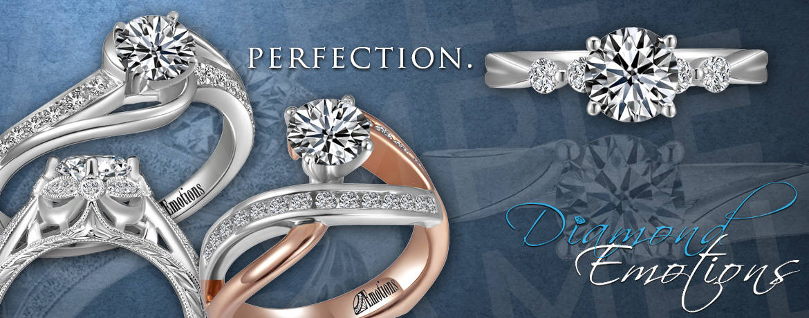 Diamond Emotions Bridal Rings