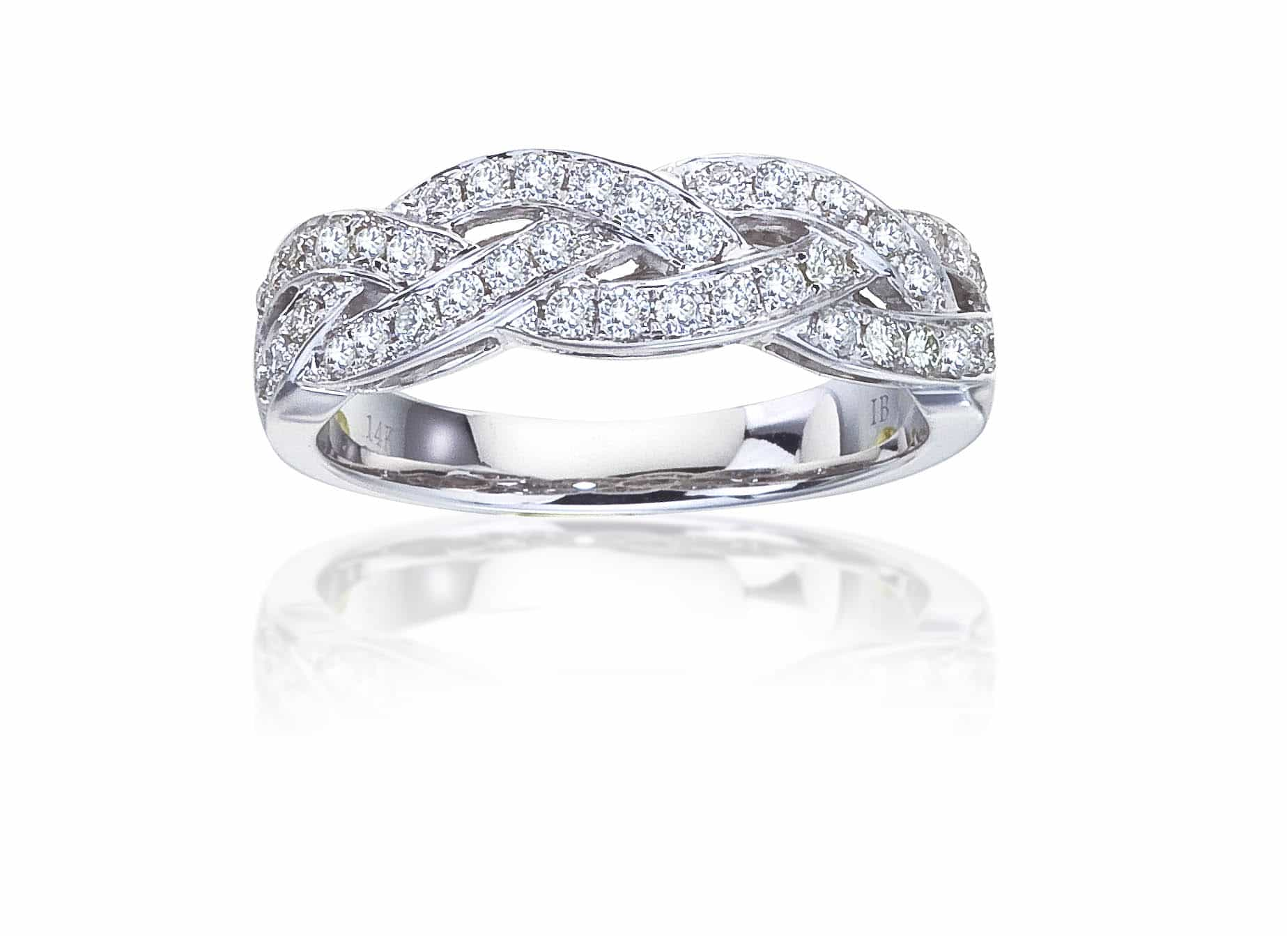 Diamond Wedding Band 72406