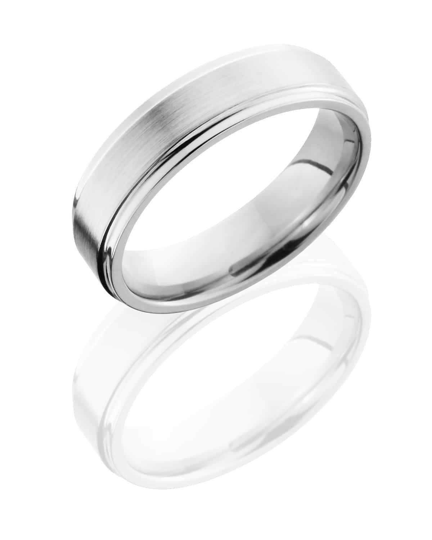 Gents Ring CC6FGE  Satin-Polish