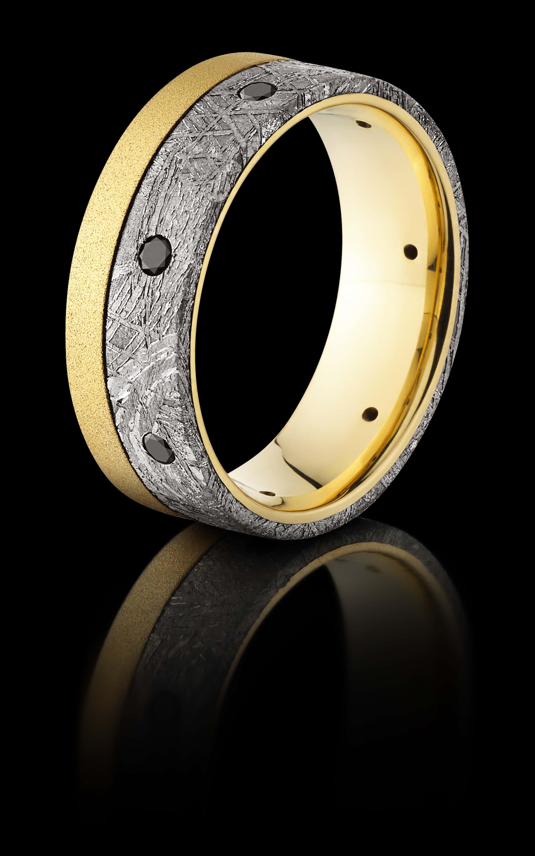 Lashbrook Gents Wedding Ring Custom Meteor JCK 2