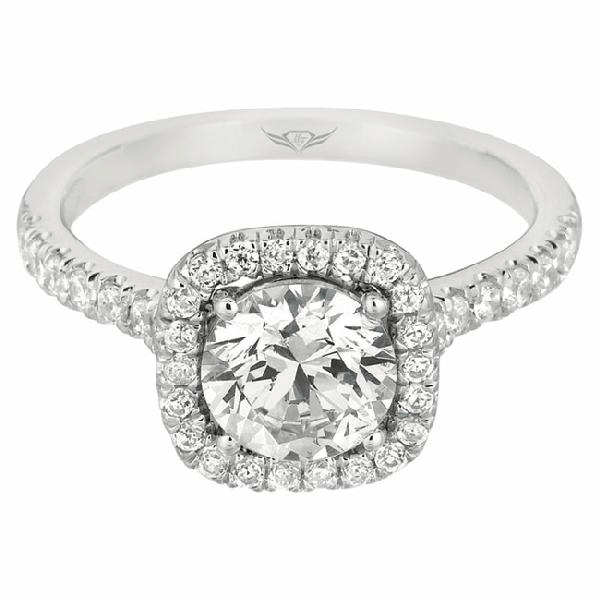 Martin Flyer Bridal Ring CM04RDQ-C