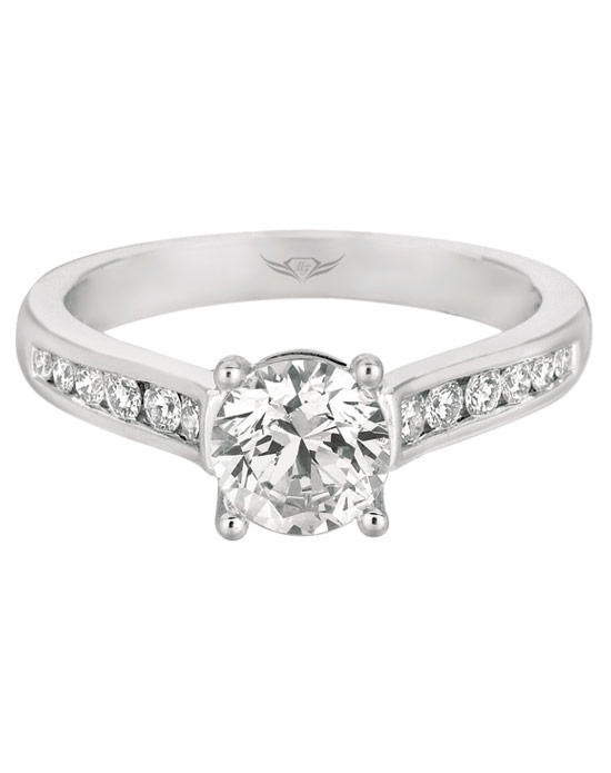 Martin Flyer Bridal Ring CT01RDQ-C