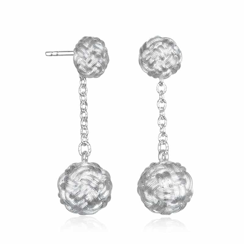 Knot Drop Earrings