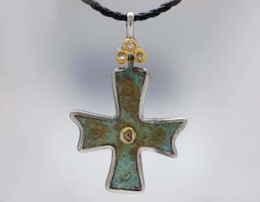 Nouveau 1910 Byzantine Cross 07