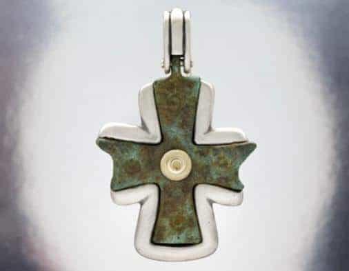 Nouveau 1910 Byzantine Cross 06