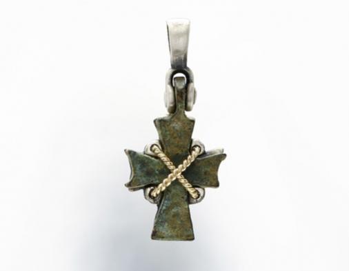 Nouveau 1910 Byzantine Cross 03