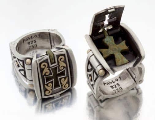 Nouveau 1910 Byzantine Ring 01